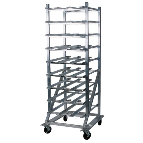 (Win-Holt CR-162M Aluminum Mobile Can Dispensing Rack f/35;10 Cans)
