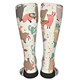 Goats Baby Farm Animal Polyester Cotton Over Knee