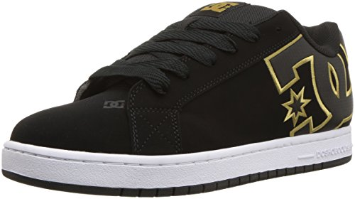 Men Skate DC 7 Shoe Court D SE Gold Graffik US D Black BAA7Ixdqw