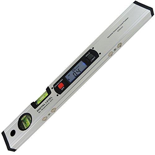 Angle Finder Ruler Tool Gauge Spirit Level 42 cm Long Digital ...