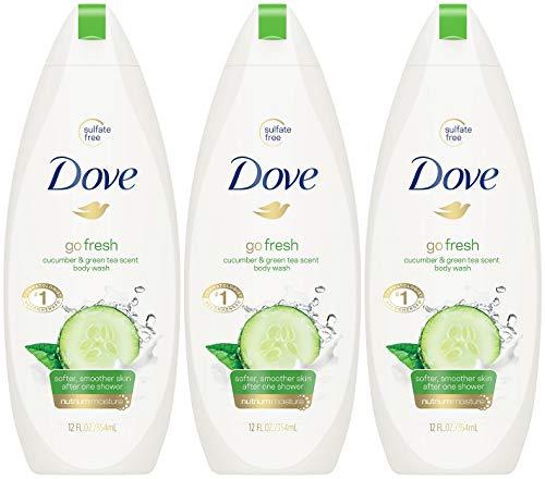 Dove Body Wash 12 Ounce Go Fresh Cucumber & Green Tea