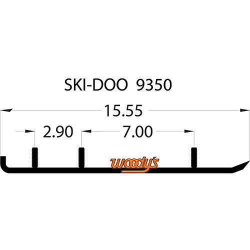 Woodys Trail Blazer IV Flat-Top Carbide Runners TSD4-9350 by Woody's