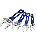 Large Opening Adjustable Wrench Spanner with