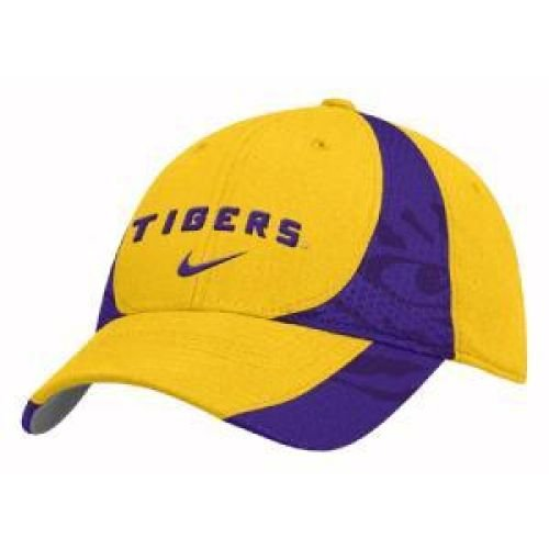 Nike LSU Tigers Gold 3-D Flex Fit Hat -