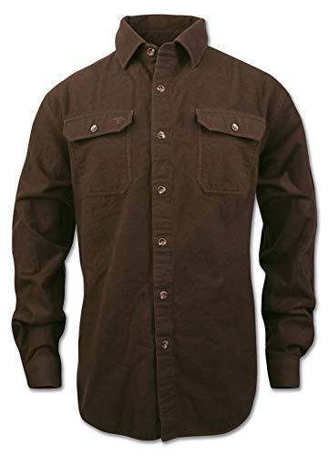 Arborwear Men's Timber Chamois Shirt, Chestnut, X-Large