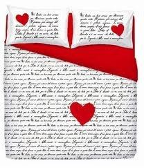 Lenzuola Matrimoniali San Valentino.Completo Lenzuola Love Is San Valentino Una Piazza E Mezzo Love