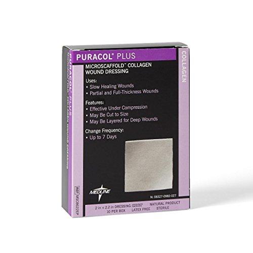 Puracol Plus Collagen Dressings - MSC8622EPH (Collagen Wound Dressing)