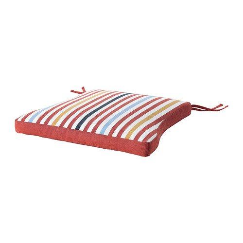 IKEA Tåsinge - cojín de la silla, al aire libre, rojo ...