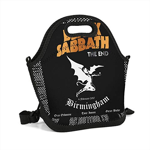SEeRRroO Insulated Lunch Box Rock Music Band Member Printed Portable Lunch Bag Lightweight Carry Boxes Cooler Tote Bag for School Work Office Picnic Gym