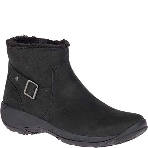 Merrell Women's Encore MID Boot Q2 Fashion, Black, 8.5 M US (Merrell Women Boots Winter)