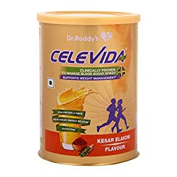Celevida Diabetes and Weight Management Nutrition Health Drink 400g (Kesar Elaichi)
