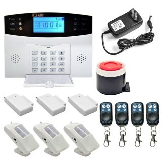 DANMINI Wireless GSM SMS Android IOS APP Home Burglar Security Alarm System