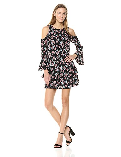 Roses Wild Combo Women's Dress Black kensie aEzwZqx5n