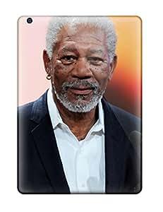 Ipad Air Hard Back With Bumper Silicone Gel Tpu Case Cover Morgan Freeman