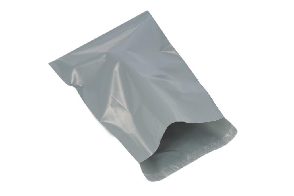 (Confezione da 100) grigio 230x 300mm, spedizione per spedizioni postali Poly buste di plastica per spedizione postale imballaggio pacchetto con chiusura autoadesiva United Kingdom