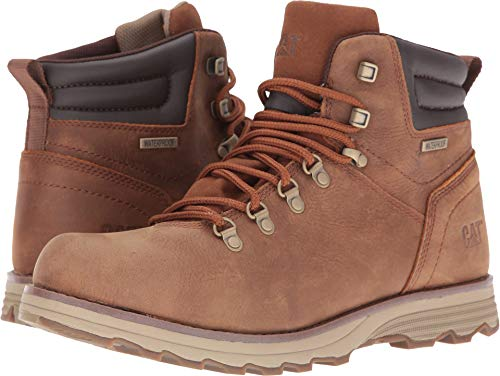 Caterpillar Sire Waterproof Boot Men 10 Brown Sugar
