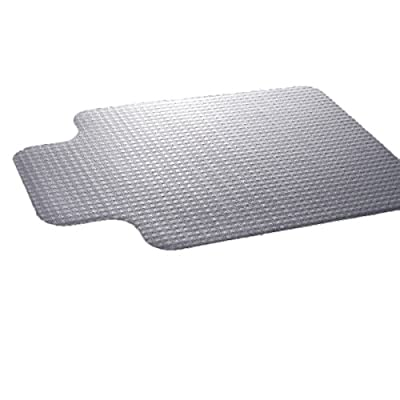"""Super buy 36""""x48"""" PVC Home Office Chair Floor Mat Studded Back with Lip for Standard Pile Carpet"""