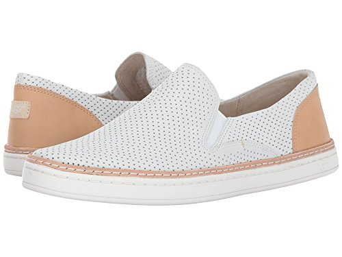 UGG Women's Adley Perf Fashion Sneaker, White, 7.5 for sale  Delivered anywhere in USA