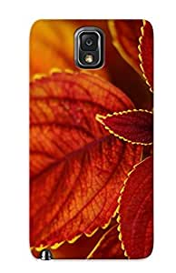 New Design Shatterproof YlGpEyd1080HdgXh Case For Galaxy Note 3 (brown Leaves)