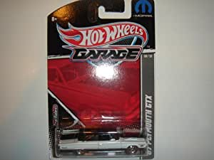 2011 Hot Wheels Garage Mopar Series '67 Plymouth GTX White/Black #10/15
