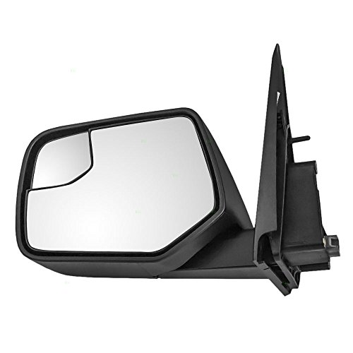 Ford Blind Spot Mirror - Drivers Power Side View Mirror with Blind Spot Glass Textured Replacement for Ford Mercury SUV AL8Z17683AA