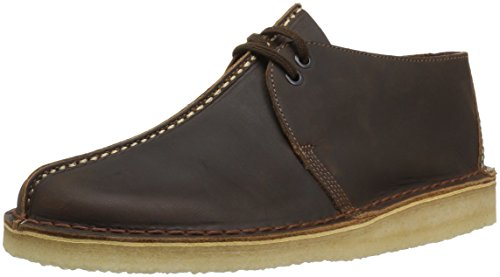 aa9349569fcc5f Clarks Men's Desert Trek Shoe, Beeswax Leather, 9.5 Medium US