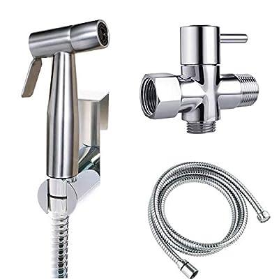 Joyway Bidet Toilet Sprayer Set-Handheld Bidet Sprayer Kit-Bathroom Hand Shower for Self Cleaning