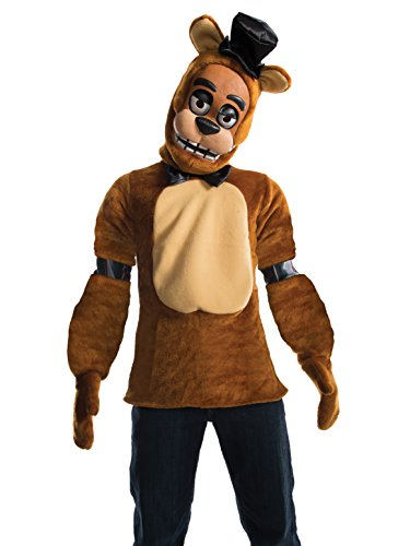 Rubie's Costume 630622-M Boys Five Nights at Freddy's Fazbear Costume, Medium, Multicolor (Pack of 4) -