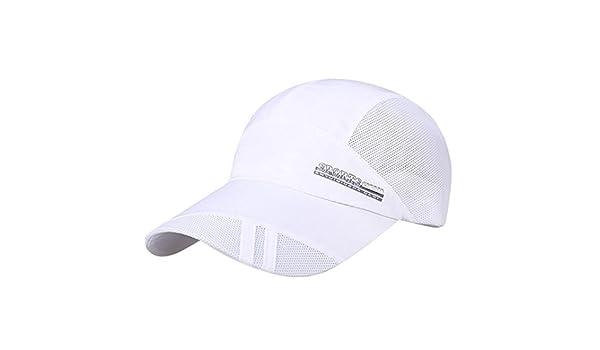 ... Sombrero de malla para adultos Unisex hombre mujer Sombrero para sol  plegable de secado rápido Gorra de béisbol al aire libre protector solar  Quick Dry ... 20ca28eab68
