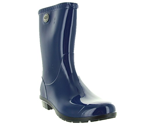 UGG Women's Sienna Rain Boot, Blue Jay, 10 B US ()