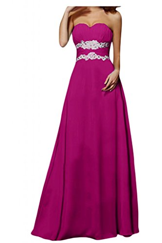 Toscana sposa Modern a forma di cuore moda donna Chiffon vestiti dal giovane sposa per una serata Party Ball Bete vestimento viola 48