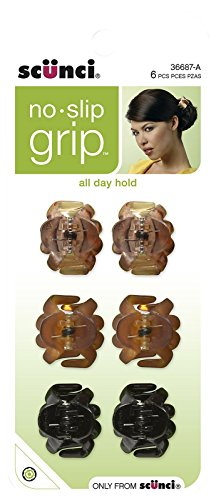 Scunci No Slip Octopus Jaw Clips Mini 25 Cm