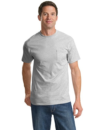 port-company-mens-tall-essential-t-shirt-with-pocket-lt-ash