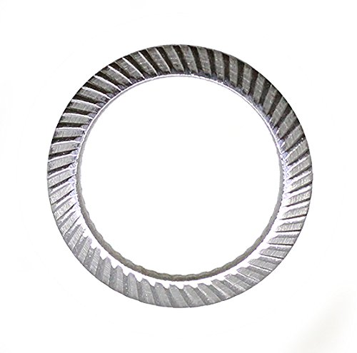 Schnorr (25pcs) M8 Stainless Brand Ribbed Safety Spring Lock Washer Metric, BelMetric WSH8SS by Schnorr (Image #3)