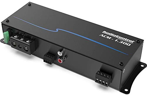 AudioControl ACM Series ACM-1.300 Compact Mono Subwoofer Amplifier 175 watts RMS x 1 at 4 ohms (300 watts RMS x 1 at 2 ohms)