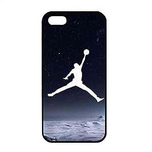 Basketball Star Michael Jordan Phone Funda Cover Para iPhone 5/ iPhone 5s Hard Shell Funda