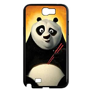 Panda Samsung Galaxy N2 7100 Cell Phone Case Black GHZ