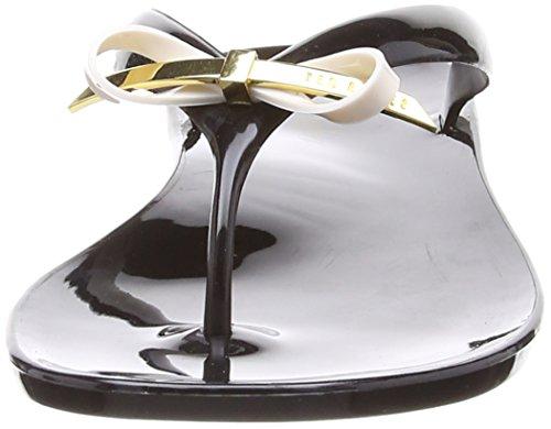 Piscine Baker Ted Chaussures black Plage De Noir Et Heebei Femme qwIvIU1T