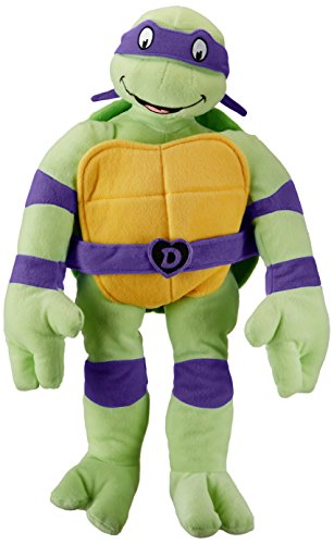 Jay Franco Nickelodeon Teenage Mutant Ninja Turtles I Love TMNT Throw Pillow, Donatello]()