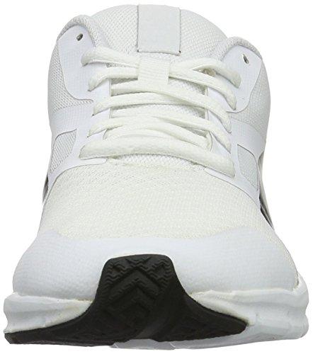 Puma Unisex-voksne Flex Racer Sneakers Hvid (hvid Puma Puma Sort-21) YvmtnuD