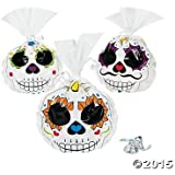 Day of the Dead Cellophane Bags - 12 ct