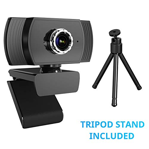 🥇 ieGeek Webcam 1080P con Soporte