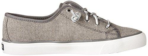 Sperry Top-sider Kvinders Handelsgade Stribet Oxford Mode Sneaker Mørkegrå / Tung Lærred auGa4u
