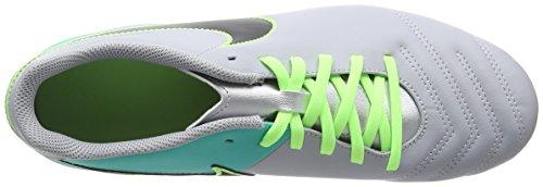 Nike Tiempo Rio III FG, Herren Fußballschuhe, Grau (wolf Grey/black/clear Jade/metallic Silver), 42.5 EU