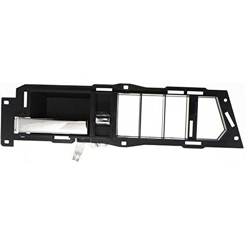 Interior Door Handle compatible with C/K FULL SIZE PICKUP 90-94 / KODIAK 95-02 Front LH Inside Black w/Case and Chrome Lever 91 Lh Interior Door Handle
