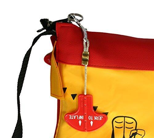 Bag to Life Classic Flyer Bag Sac de courses fabriqué en gilet de sauvetage–point d'honneur