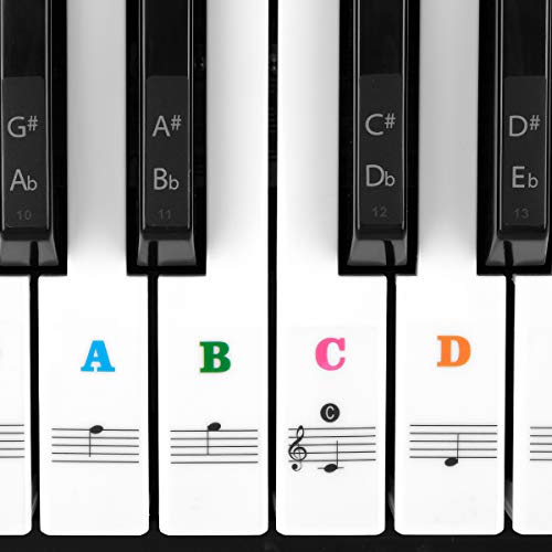 The 10 best piano stickers for 61 key
