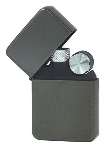 元林 灰皿喫煙具 ブラック 約3.8×1.3×5.7cm B00UT2KZ2M