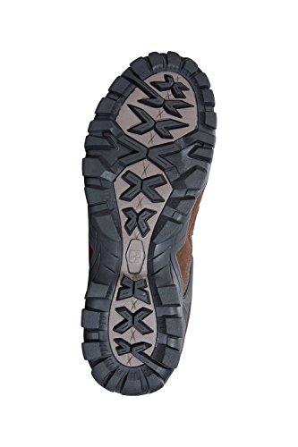 ante diario para de y para de material para Ideal goma de de senderismo Suela exterior exteriores uso Zapatillas rápido Botas Warehouse hombre Zapatos de impermeables caminar Mountain malla Marrón claro secado Curlews waqxRzp1IC