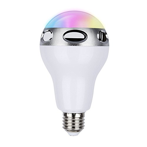 Bombilla LED E27 inteligente de 8w Tsing con Bluetooth